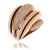 1.55CTS Diamonds  18CT Rose Gold  Ring