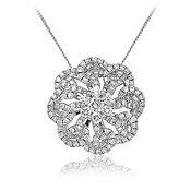 Diamond Pendant 0.85ct 18kt White Gold