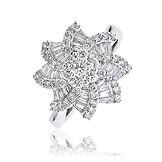 1.20CTS Diamond  18k White Gold  Ring