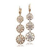 0.50ct Diamond Earrings  18k Rose Gold