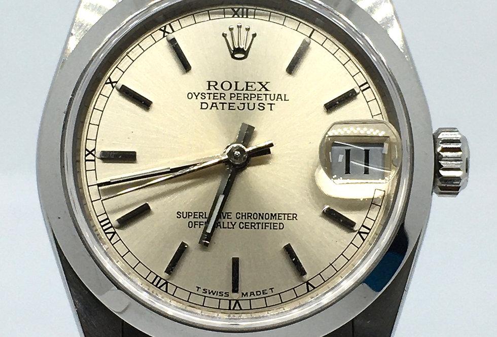 Rolex DateJust Ladies Steel Midsize Watch