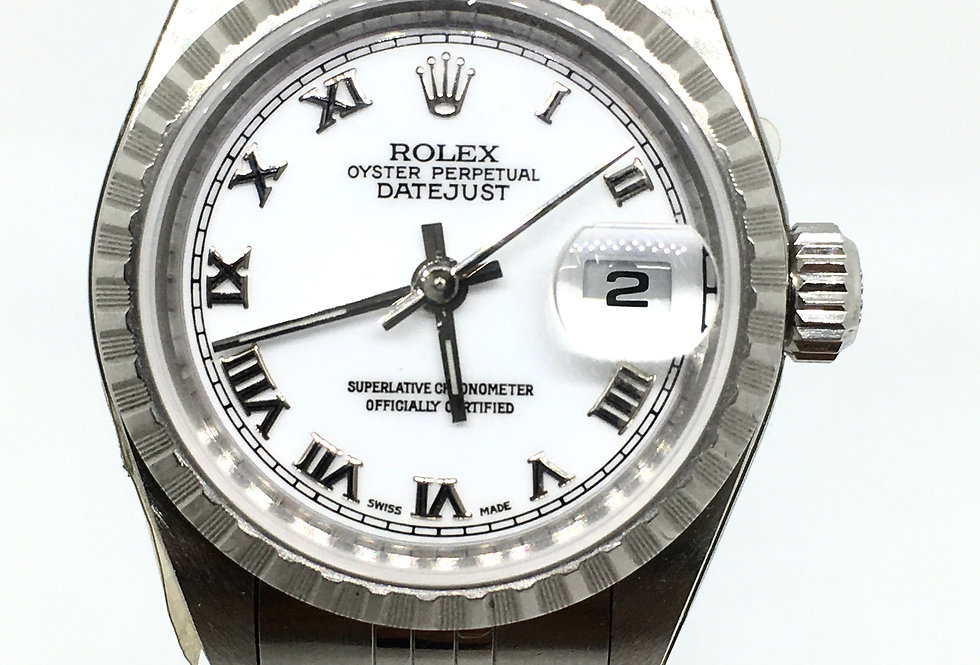 Rolex DateJust Ladies Steel Watch