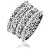 3.00CTS Diamonds  18k White Gold  Ring