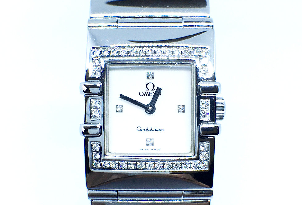 Omega Constellation Ladies Diamond Set Watch