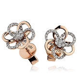 Diamond Earrings 0.20ct  18kt White Gold Earring