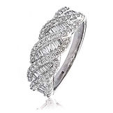 0.80CTS Diamonds  18k White Gold  Ring