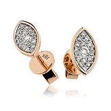 025ct - 0.35ct Diamond 18k Rose Gold