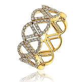 0.60CTS Diamonds  18k Yellow Gold  Ring