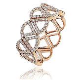 0.60CTS Diamonds  18k Rose Gold  Ring