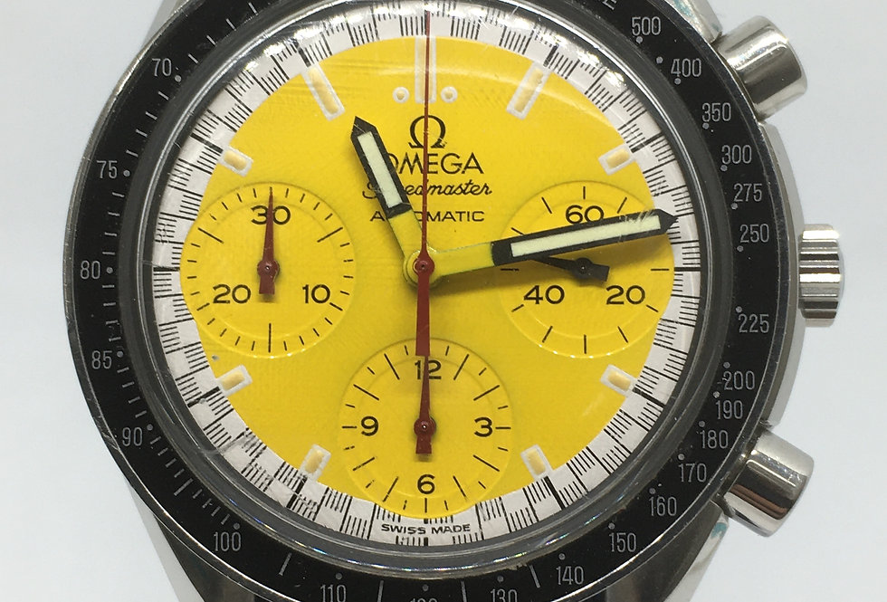 """Omega Speedmaster """"Schumacher"""" Automatic Watch"""