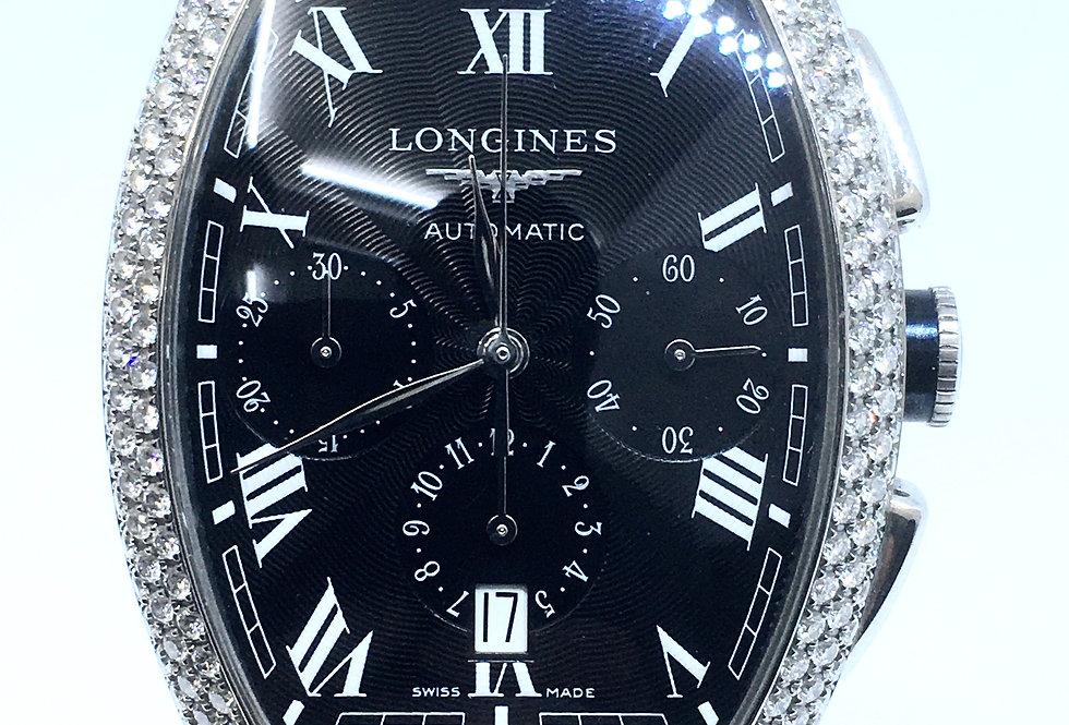 Longines Evidenza Gents Diamond Set Watch