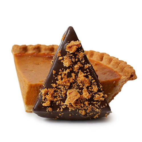 Dipped Pumpkin Pie