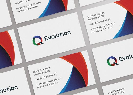 Q Evolution, Visitenkarte