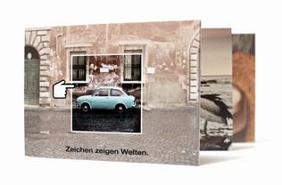 effective communication, Postkarte