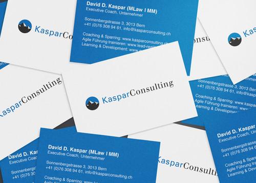 Kaspar Consulting, Visitenkarte