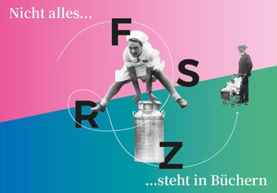 Frauen Stadt Rundgang Zürich, Postkarte