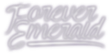Forever Emerald Logo Official Band Pop Punk Rock