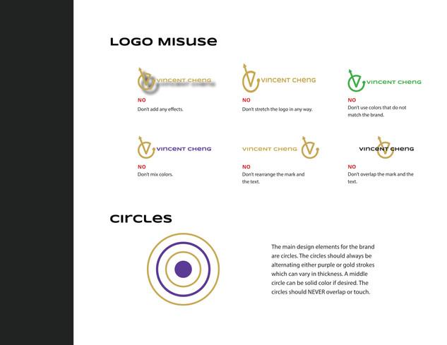 Vincent Cheng Logo Misuse