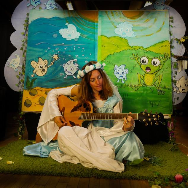 julia baeza au rythme des flots