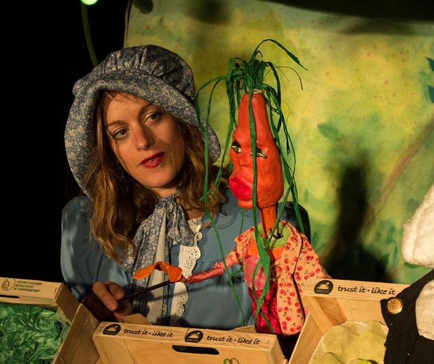 Julia Baeza spectacle marionettes