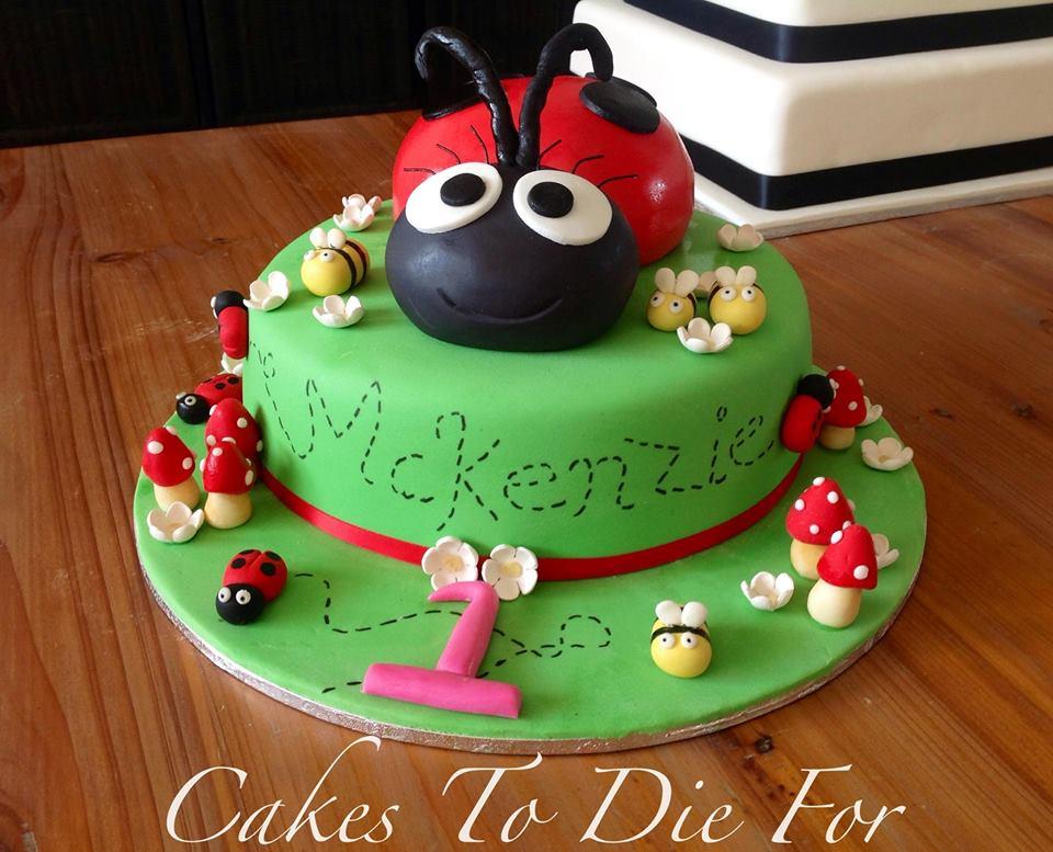 McKenzies Ladybug Cake