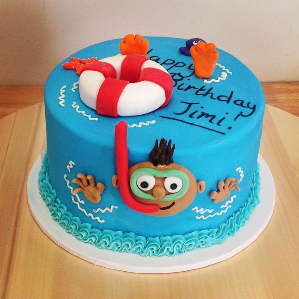 Snorkelling Cake