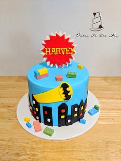 Batman Cake For Harvey