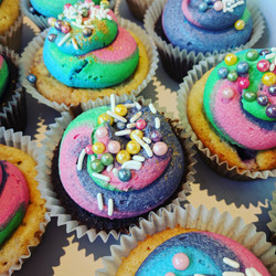 Psychedelic Cupcakes #2