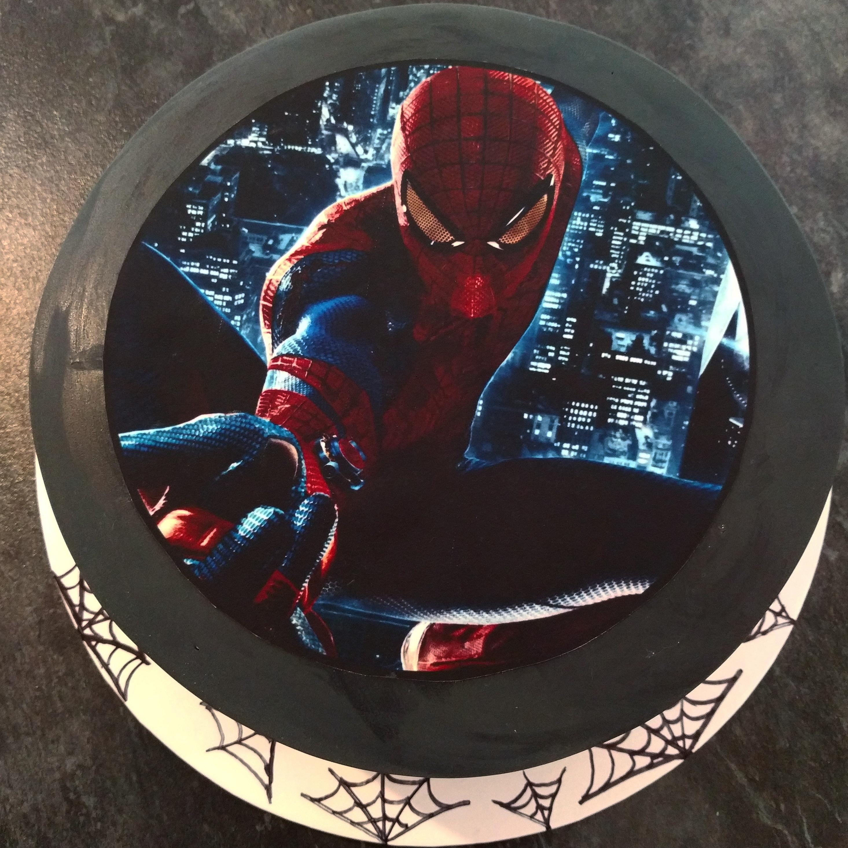 Spiderman Edible Image