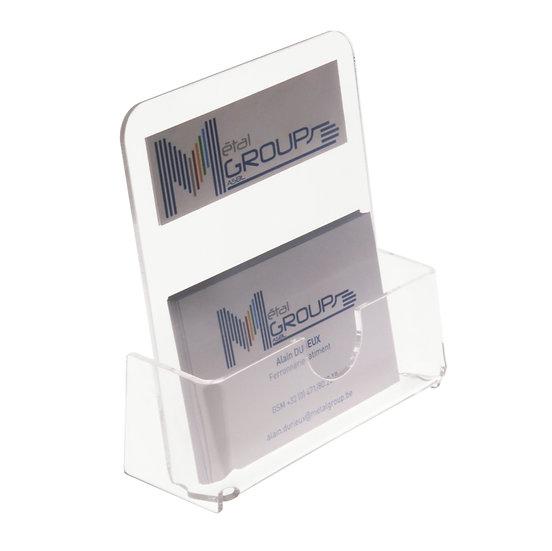 Porte carte de visite - Modèle haut