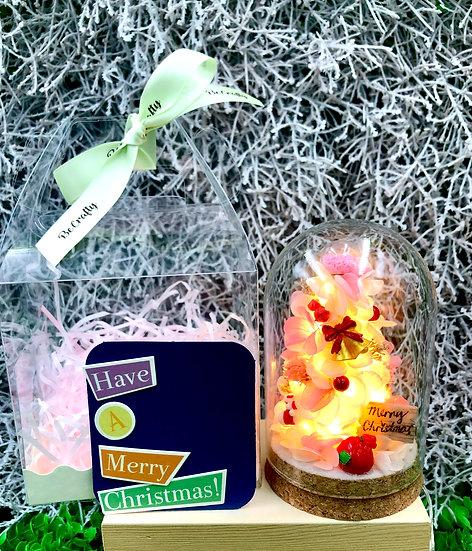 Preserved Flower Christmas Tree Gift Set