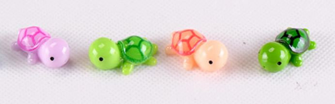 Colorful Turtle Figurine