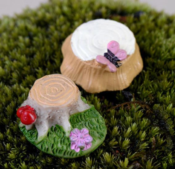 Small Stump Figurine