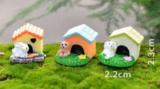 Pet House Figurine