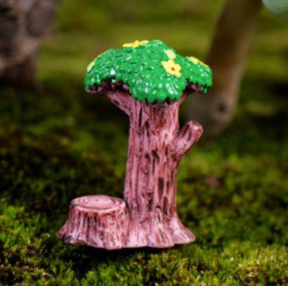 Tree With Stump Figurine
