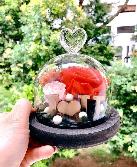 I Love You Preserved Flower Arrangement
