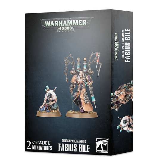 *New* CHAOS SPACE MARINES: FABIUS BILE