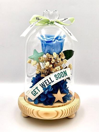 Get Well Soon Preserved Flower Arrangement