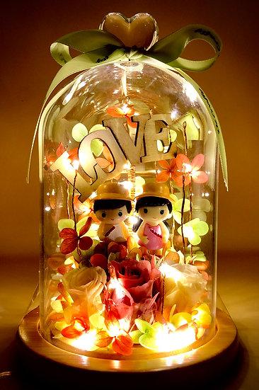 Lets Go For an Adventure Love Preserved Flower Arrangement