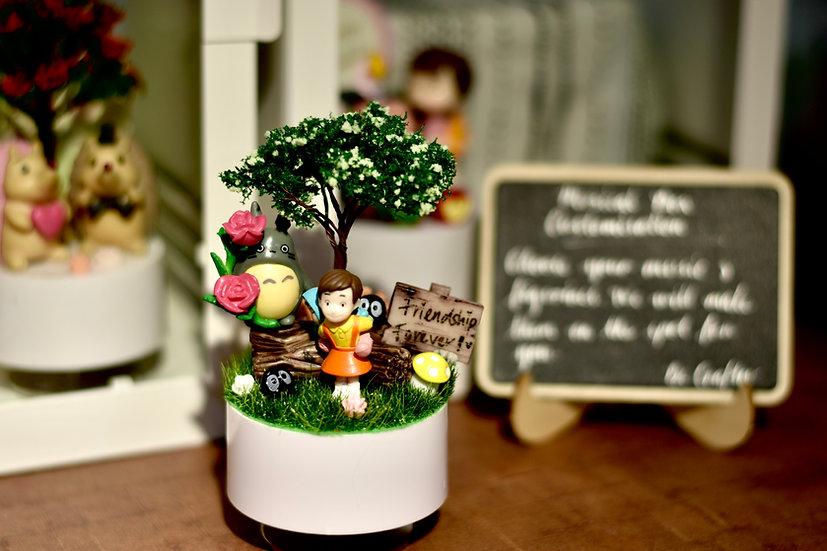 Totoro Friendship Music Box