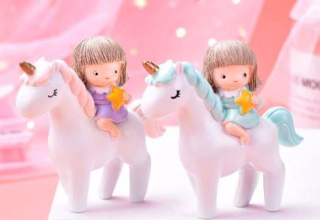 Unicorn Girl Figurine