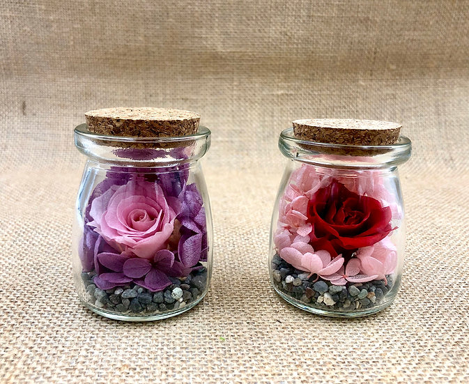 Mini Preserve Flower Arrangement