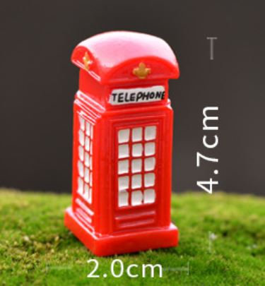 Telephone Booth Figurine