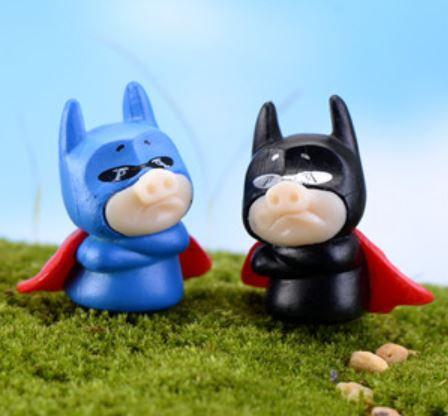 Hero Piggie Figurine