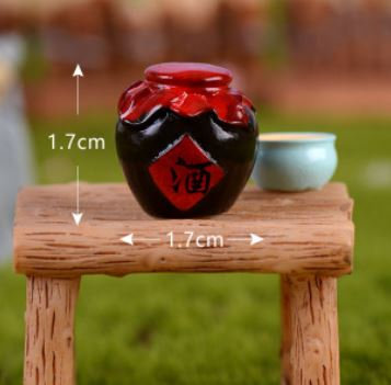 Traditional Chinese Wine Figurine