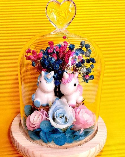 Unicorn Garden Preserved Flower Arrangement