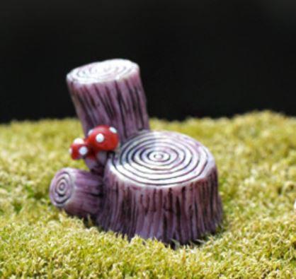 2 Tier Stump Figurine