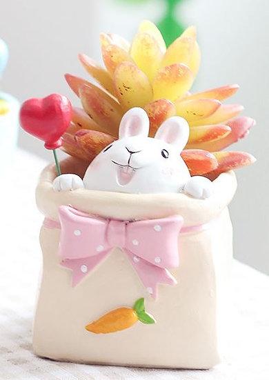 Carrot Bunny In A Bag Pot