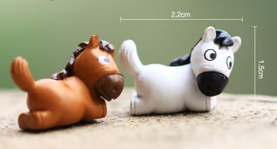 Cute Horse Figurine