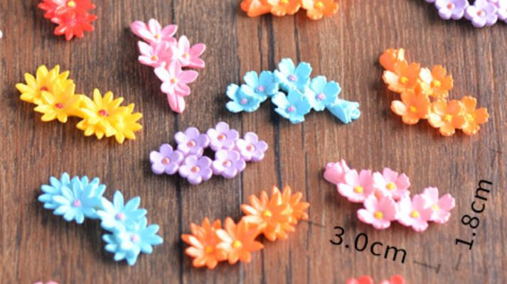 Assorted Flowers Figurine